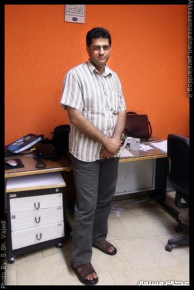 زنده یاد مجتبی تکین. دبیرفقید سرویس عکس خبرگزاری مهر