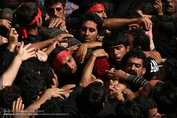 آئین سنتی مذهبی قالیشویان مشهد اردهال کاشان